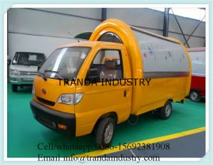 Electric Ice Cream Mobile Food Bus/Coffee Food Vending Food Vans pictures & photos