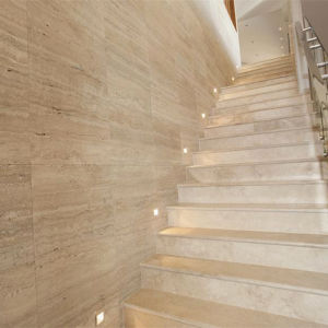 Italy Roman Travertine for Natural Stone Floor Wall Tile pictures & photos