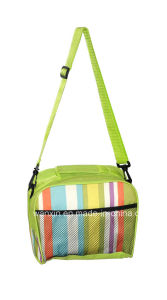 Polyester Insulated Lunch Shoulder Cooler Bag