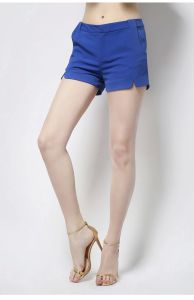 Hot Sale 100% Cotton Fashion Design Ladies Shorts for Summer pictures & photos