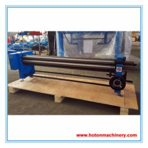 Hand Metal Sheet Slip Roll Machine (Manual Round Bender W01-2X610/1000/1250) pictures & photos