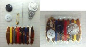 Golden Paper Sewing Kit (SK568)