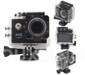 2inch 1080P Mini Helmet Camera Sport Camera with WiFi Function W9 DV Recorder pictures & photos