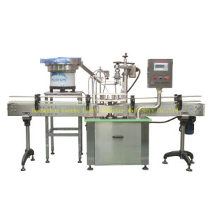 Auto Aluminum Caps Crimping Machine with Rotary Type (GHAC-3) pictures & photos