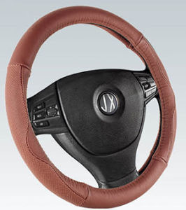 PVC with PU Steering Wheel Cover (BT7322D) pictures & photos
