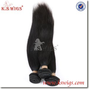 Unprocessed Natural Brazilian Virgin Human Hair Extension pictures & photos