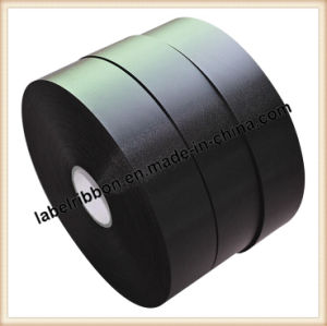 High Quality Black Color Hand Tearable Acetate Taffeta (AT1325)) pictures & photos
