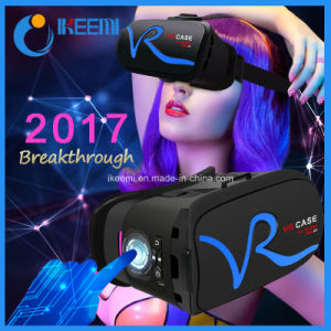Virtual Reality Vr 3D Glasses Phone Case Vr Box with Remote pictures & photos