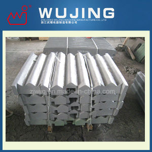 High Manganese Steel Crusher Spare Parts Jaw Plate Made in China