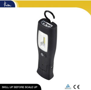 15+3 LED Foldable Working Lamp with 3LED on Top
