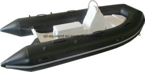 Aqualand 13feet 4m Rigid Inflatable Motor Boat/Rib Fishing Boat (RIB400) pictures & photos