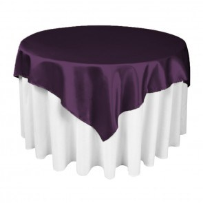 Square Party Table Cloth Overlay for Decoration pictures & photos