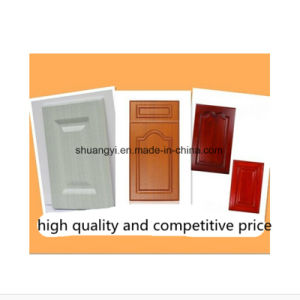 Interior Use PVC Film Finished MDF Kitchen Cabinet Door pictures & photos
