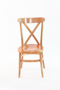 Rental Wedding Wood X Back Chair Cross Back Chair pictures & photos