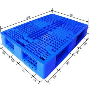 Double-Sided HDPE Plastic Pallet with Euro Size pictures & photos