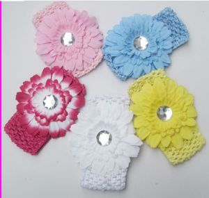 Fashion Euro High Quality Baby Sunflowers Hair Band