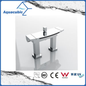 Newly Waterfall Bathtub Double Handle Bathroom Tub Faucet (AF0062-2A) pictures & photos