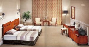 Hotel Modern Double Room Suite Business Bedroom Furniture (GLB-210) pictures & photos
