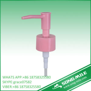 28/410 PP Pink Lotion Pump for Cleaning Face pictures & photos