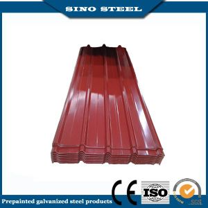 Dx51d Construction Prepainted Galvanized Corrugated Steel Roofing Sheet pictures & photos