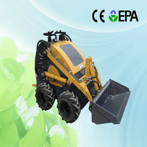 Mini Skid Steer Loader with Diesel Engine pictures & photos