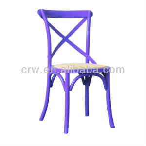 Rch-4001-21 Hot Sale Wooden Furniture Modern Purple Dining Chair pictures & photos