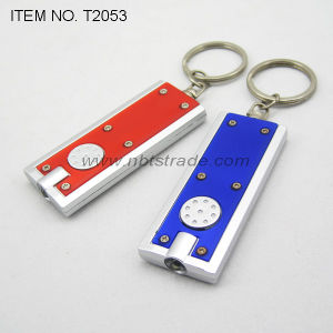 Fashion Portable LED Keychain Light (T2053) pictures & photos