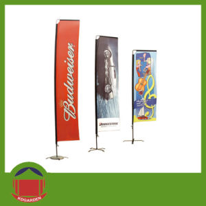 Double Printing Square Flag Banner pictures & photos