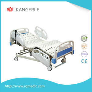 (CE, ISO) Five-Function Electric Medical Patient Bed, Hospital Bed (A1-2) pictures & photos