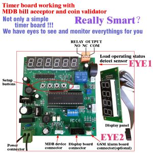 Mdb-Smart Mdb Timer Control Board with Bill Acceptor pictures & photos