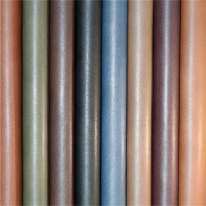 Exported Quality PU Artificial Leather for Shoes, Furniture, Vehicles Upholstery pictures & photos
