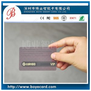 Transparent Card for VIP pictures & photos