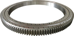 Single-Row Four Point Angular Contact Slewing Ball Bearing External Gear 9e-1b40-0910-0345 pictures & photos