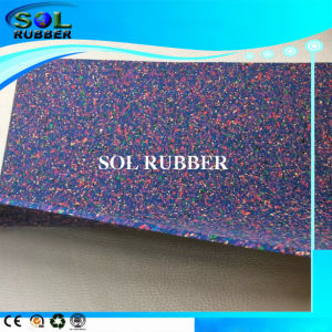 High Density Sound Resistance Acoustic Underlayer Rubber Floor pictures & photos