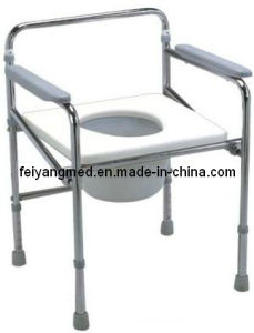 China Folding Height Adjustable Commode Chair China