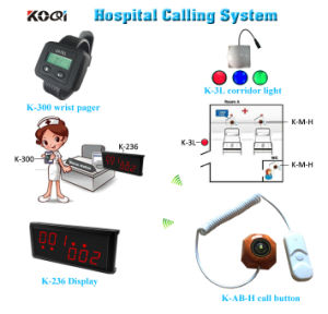 Hospital Call Button System for Patient Nurse Calling pictures & photos