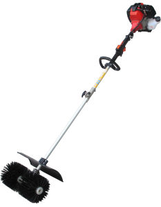 Gasoline Power Broom for Landscape Turf pictures & photos