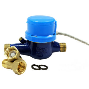 Wired Valve Control Water Meter for AMR System pictures & photos