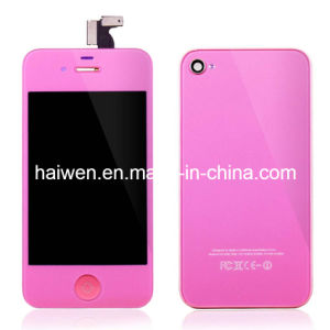 for iPhone 4S LCD & Touch Digitizer Assembly- Pink Color