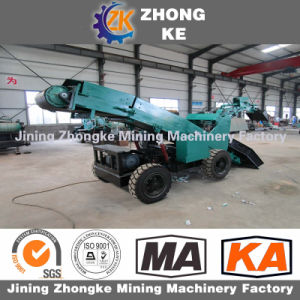 Zwy80 Wheel Excavator Mucking Loader