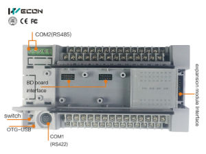 Wecon 14 I/O Micro Automation Control PLC (LX3V-0806MR-A) pictures & photos
