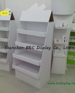 Candy Paper Display Stand, Sweetmeats Cardboard Floor Display Stand (B&C-A079) pictures & photos
