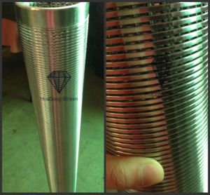 High Flow Rate V Wire Screen/Wire Wrapped Water Filter Pipe pictures & photos