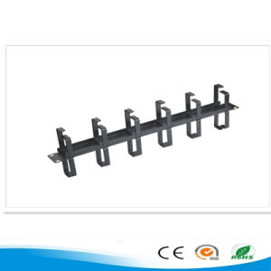 UTP Cat5e Patch Panel with Cable Management pictures & photos