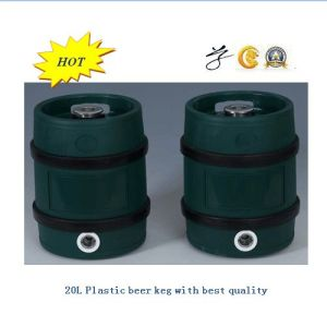 15L 20L 25L Plastic Beer Barrel pictures & photos