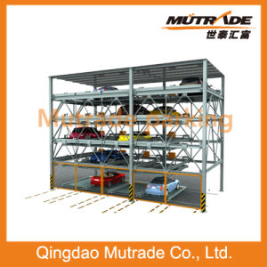 Puzzle Parking System-4 Floor and Lift-Sliding Automatic Parking Equipment pictures & photos