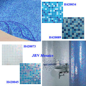 CE Swimming Pool and Bathroom Wall Glass Mosaic Tiles (H420073) pictures & photos