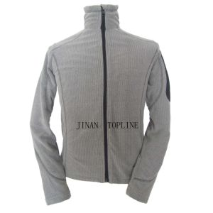 Rip Stop Cationic Dyed Polar Fleece Leisure Jacket Sports Wear pictures & photos