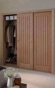 Easy Assembly Door Bedroom Wardrobe Door Designs/Bedroom Wardrobe Door pictures & photos