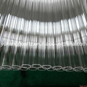 Transparent UV-Stop Silica Quartz Tube pictures & photos